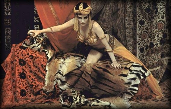 Richard Avedon: MM as Theda Bara